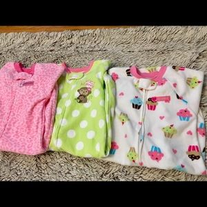 Carters Sleepers Bundle of 3